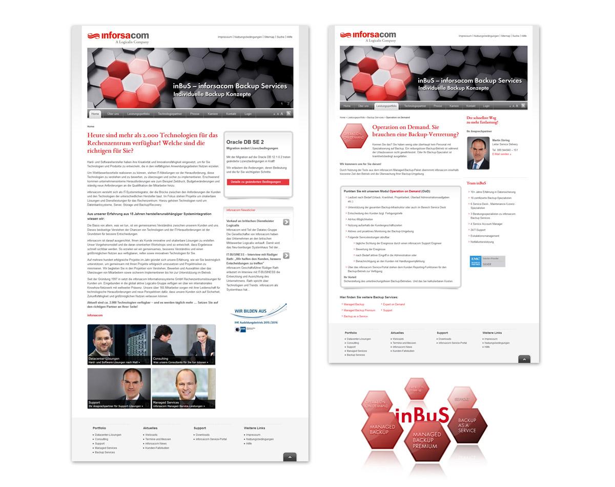 Entwicklung Corporate Website