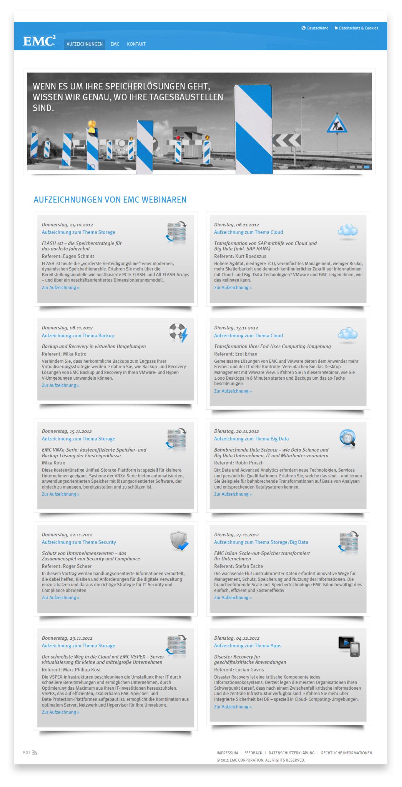 EMC Webinar