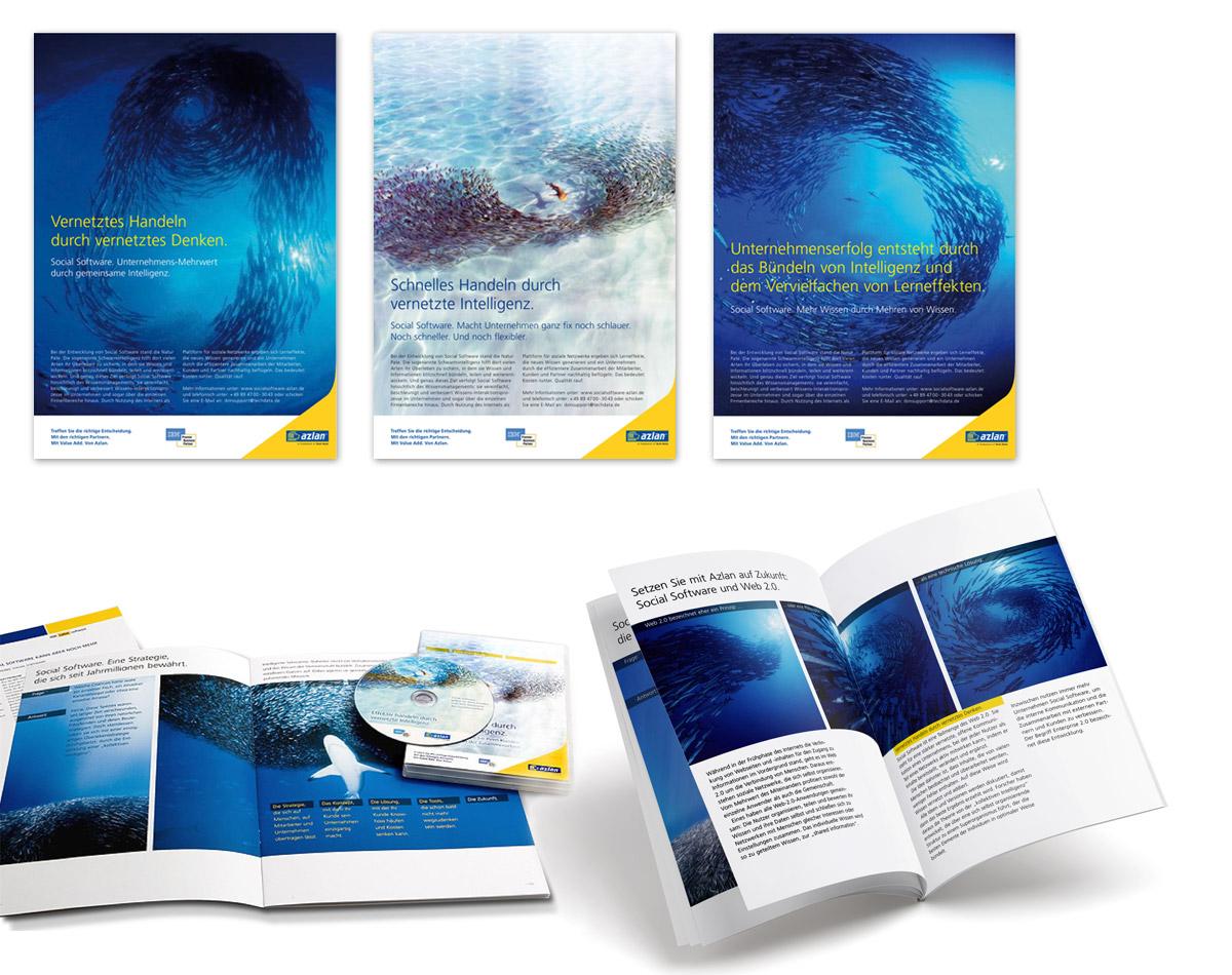 Broschüre und CD-ROM